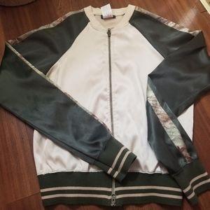 Hollywood the jean people satin jacket